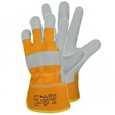 12 Paar Arbeitshandschuhe Leder Handschuhe Rindspalt Lederhandschuhe Größe 10