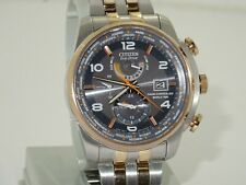 citizen eco drive world time A-T radio control watch AT9016-56H