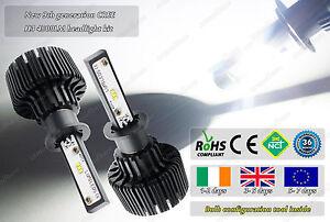 Cree LED H3 453 Xenon White 6000k Headlight Headlamp Bulbs Lamps Lights 12v 24v
