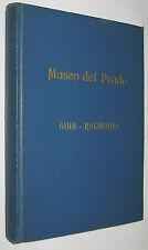 MUSEO DEL PRADO GUIA RECUERDO - OVIDIO PAREDES - MUY ILUSTRADO
