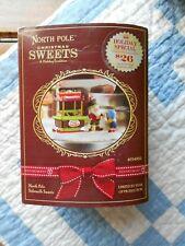 Dept 56 North Pole Village Accessory North Pole Sidewalk Sweets Nib