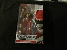 Power Rangers Lightning Collection 6-Inch Dino Charge Red Ranger