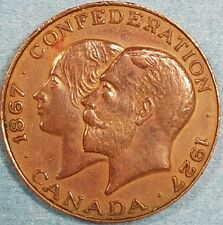 1927 Confederation Medal  ID #62-10