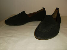 Donald J Pliner Brown Fabric Flats Slip On Loafers size 9 M