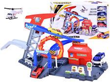 Kinder Autorennbahn Kinderrennbah Hubschrauber Notaufnahme Feuerwehr NEU JO