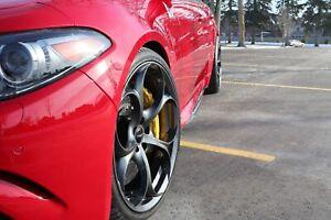Alfa Romeo Giulia Quadrifoglio Carbon fiber front Splitter