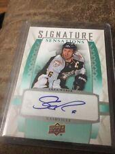 2011/12 Upper Deck Shea Weber Signature Sensations Auto