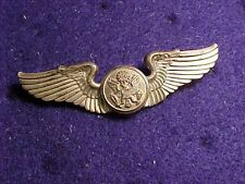 ORIGINAL WWII FULL SIZE USAAF AIRCREW WINGS / INSIGNIA  STERLING - ODD AMCRAFT