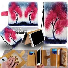 For Apple iPhone 345678/Itouch 3456 - Leather Wallet Card Stand Case Cover