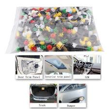 Set of 500Pcs Plastic Rivet Mixed Car Door Trim Panel Clip Fasteners Bumper Pins