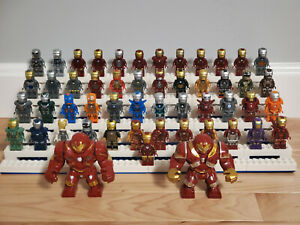 All Iron Man Suits Complete Lot MK1 - MK85 - 51pc Collection Set - USA SELLER