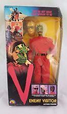 "Vintage V Enemy Visitor Lizard Alien 12"" Figure 1984 LJN TV Show Original Box"