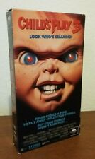Child's Play 3 VHS vintage horror Chucky