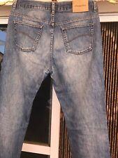 Mens Jeans 34 X 29 Inch Designer Eucidio Tucci Classic Fit YKK ZIP good Cond