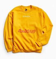 Bob Marley Exodus Crewneck Gold Sweatshirt Sweater T-Shirt Tee Embroidered NWT