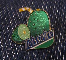 Wonderful pin badge advertising Teisseire Fruit drink France