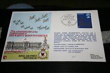 FIRST DAY COVER - 25th ANNIVERSARY OF CORONATION RAF WATTISHAM PHANTOM 1978