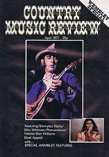 DON WILLIAMS / EMMYLOU HARRIS / SLIM WHITMANCountry Music ReviewApr1977