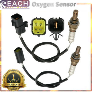 2pcs Up&Downstream Oxygen O2 Sensor 1,2 For 2006 2007 2008 Chevrolet Aveo5 1.6L