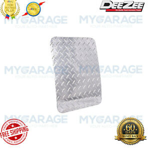 Dee Zee DZ1800 Silver Diamond Plate Mud Flaps for Chevy Dodge Ford GMC RAM