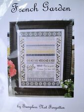 Samplers Not Forgotten FRENCH GARDEN Cross Stitch Pattern
