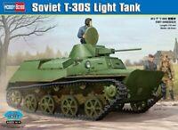 Hobbyboss 1:35 scale model kit - Russian T-30S Light Tank  HBB83824