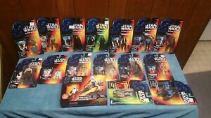 Star Wars The Power of the Force 1995- 97 Kenner Action Figures Lot - NIB