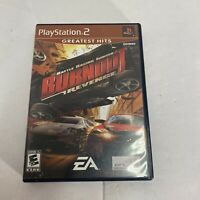 Burnout: Revenge Video Game Complete w/ Manual (Sony PlayStation 2, PS2) F/S CIB