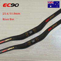 EC90 3K Carbon 600-760mm Length Bar 25.4/31.8mm Mountain Bicycle Riser Handlebar
