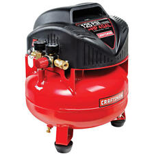Craftsman 4 Gallon 3/4 HP Oil-Free Pancake Air Compressor 125 Max PSI