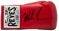 Mike Tyson Signed Right Hand Red Cleto Reyes Boxing Glove JSA ITP