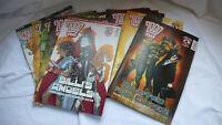 Comic Collection Job Lot Comics Judge Dredd  2000AD Mixed Issues x 10