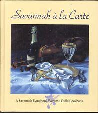 Savannah a la Carte Symphony Women's Guild Cookbook 1999 Levow Art Picnic Brunch