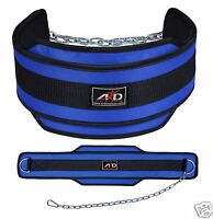 ARD Weight Lifting Belt/ Neoprene Belt/ Exercise Belt Heavy Chain BLUE