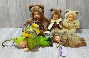 Anne Geddes 5 Baby Doll Mixed Lot
