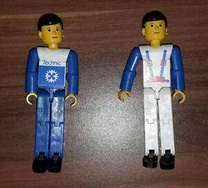 2 Lego Technic Minifiguren tech005 und tech006 aus Set 8712