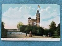 The Belvidere, Central Park, New York Vintage Postcard