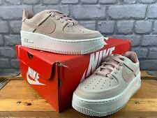 NIKE LADIES UK 5 EU 38.5 AIR FORCE 1 SAGE LOW PINK TRAINERS CHILDRENS RRP £90 C