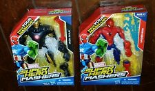 Brand New Marvel Super Hero Mashers: Spider-Man & Iron Man!