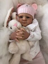 "CHERISH DOLLS REBORN DOLL CHEAP BABY GIRL ELSIE REALISTIC 18"" LIFELIKE UK"
