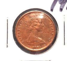 CIRCULATED 1976 1 CENT NEW ZEALAND COIN!  (71215)