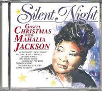 Mahalia Jackson Silent night-Gospel christmas with (#laserlight15300) [CD]