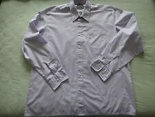 Oberhemd  Herrenhemd Herren  pastell-lila   Gr. 43 langer  Arm