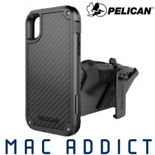 Pelican Shield Carbon Fibre Ultra Rugged Case W/ Holster & Stand for iPhone XR