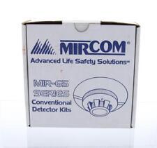 MIRCOM MPD-65PK Conventional 2-Wire Photo Dectector Kit NIB