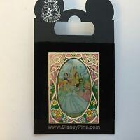 Art Nouveau Princesses Belle Ariel Snow White Jasmine Aurora - Disney Pin 62420