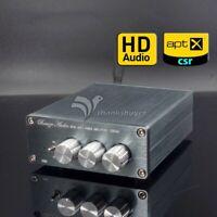 Mini HiFi Power Amplifier CSR8675 Bluetooth 5.0 TPA3116 Support APTX HD BL50A