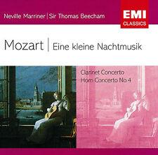 MOZART  Eine Keine Nachtmusik  Clarinet Concerto   [EMI Classics]   *NEW CD*
