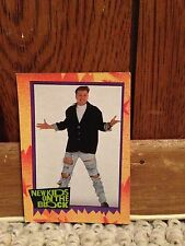 New Kids On The Block Trading Card #7 Donnie Walhberg
