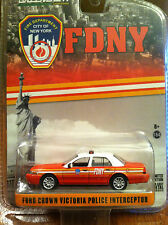 Greenlight  Hot Pursuit  FDNY Ford Crown Victoria City of New York Fire Dept.